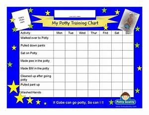 Cars Potty Training Chart Potty Scotty Potty Training Chart With Activities Potty