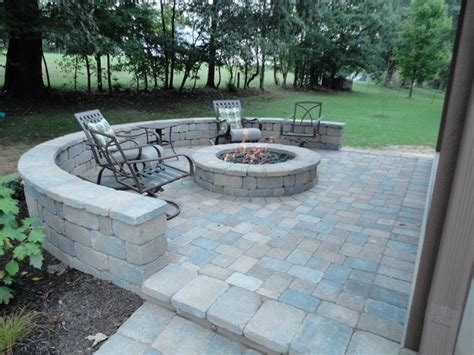 gas outdoor firepit modern patio other by wildwood