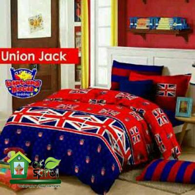 sprei bendera amerika inggris usa houseofspreiku