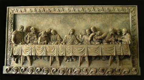 Home Interior Lord's Last Supper Figurines : Good Last Supper Wall Decor