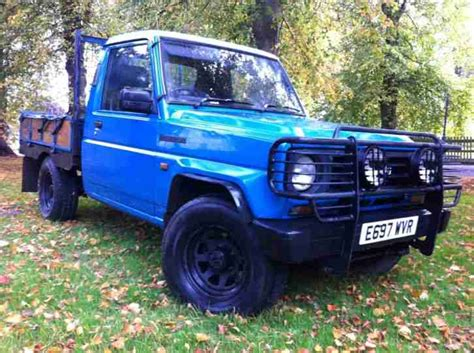 Daihatsu 1987 Fourtrak Dx Diesel Blue. Pick Up. Full Mot
