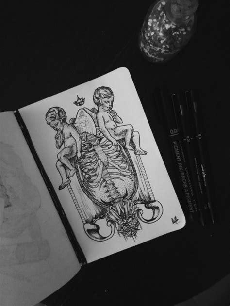 angel tattoo design | Tumblr