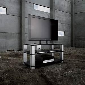 Spectral HIGH END HSL1203 Aluminium Clear Glass 3 Shelf