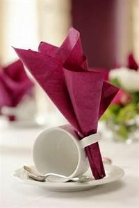 Pliage Serviette En Papier : comment r aliser un pliage de serviette id es originales ~ Melissatoandfro.com Idées de Décoration