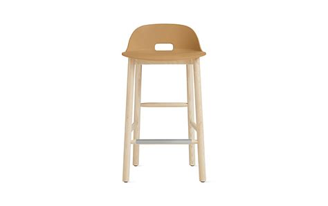 low back counter stool alfi low back counter stool design within reach 7185