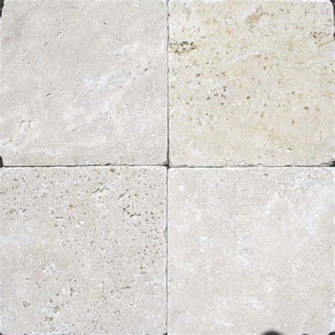 tumbled tile floor ms international chiaro 6 in x 6 in tumbled travertine floor and wall tile 1 sq ft case