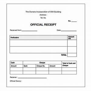 payment receipt template 17 free examples samples format With receipts for payments template
