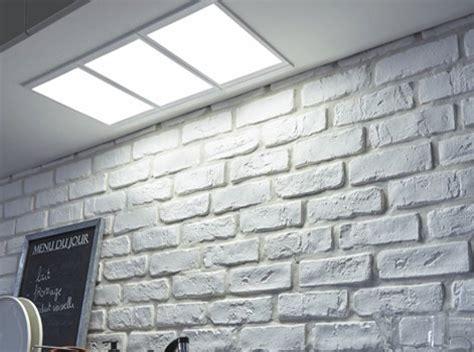 eclairage led plan de travail cuisine tout savoir sur l 39 éclairage dans la cuisine leroy merlin