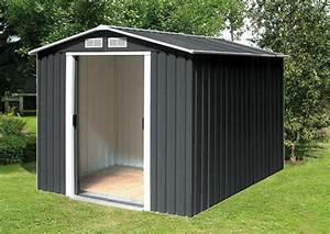 Gerätehaus Metall Flachdach : tepro ger tehaus metall riverton 6x6 holzoptik ~ Eleganceandgraceweddings.com Haus und Dekorationen