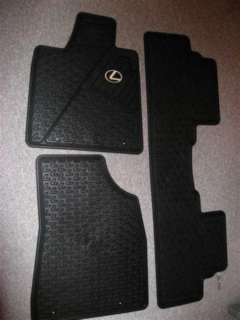 Lexus Oem All Weather Floor Mats Rx350 by Can Toronto New Oem All Weather Floor Mats For 3rd
