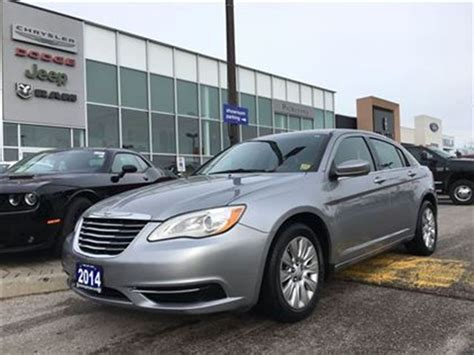 2014 Chrysler 200 Lx by 2014 Chrysler 200 Lx Pickering Ontario Used Car For