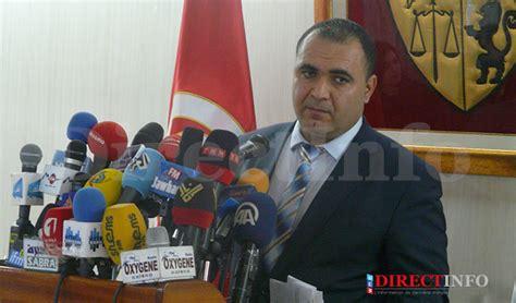 tunisie directinfo mohamed ali aroui le porte parole du ministere de l interieur directinfo