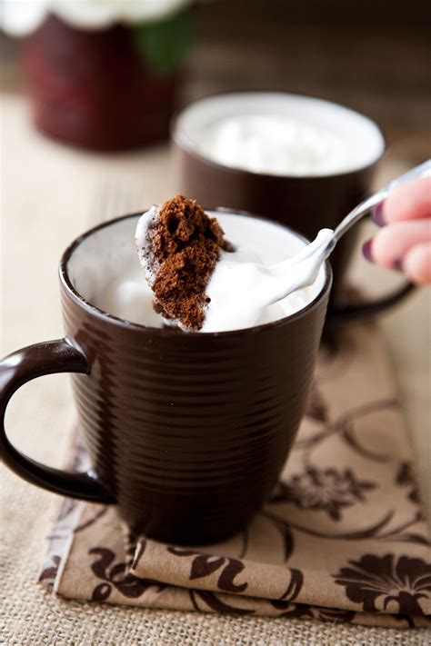Eclectic Recipes 100 Calorie 2 Minute Chocolate Mug Cake
