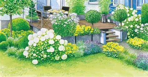 Beet Direkt An Hauswand by Gestaltungsideen F 252 R Eine Terrasse Sommerflair Und Modern