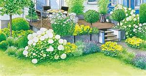 Blaudünger Für Hortensien : gestaltungsideen f r eine terrasse sommerflair und modern mein sch ner garten ~ Michelbontemps.com Haus und Dekorationen
