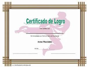 Attendance Template For Teachers Certificado De Logro En Artes Marciales Para Imprimir Los