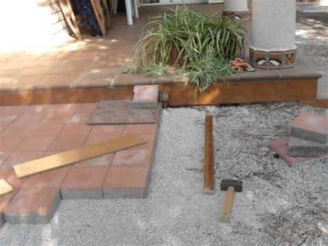 adoquinado de patio
