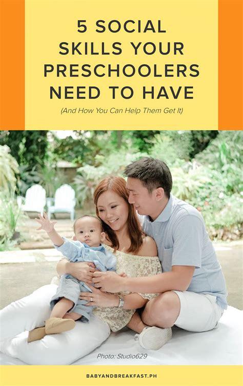 social skills preschool social skills for preschoolers philippines family 295