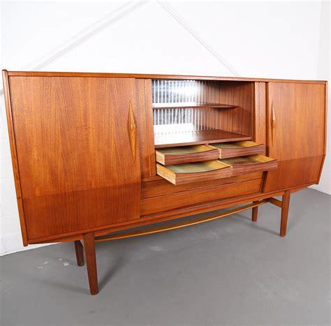 credenza sideboard geometric design teak sideboard credenza dekaden