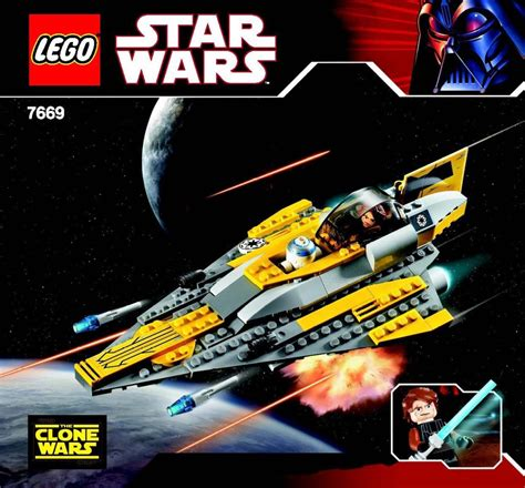 Instructions For 76691  Anakin's Jedi Starfighter