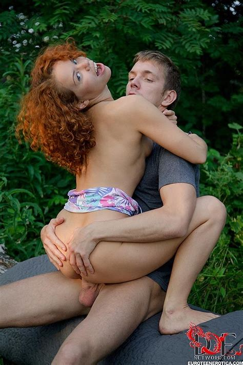 Sunny curly amateur teen redhead fucked and blowjobs outdoors - Pichunter