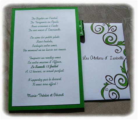 anniversaire de mariage 40 ans poeme cartes d invitations 40 ans de mariage ma p tite fabrique
