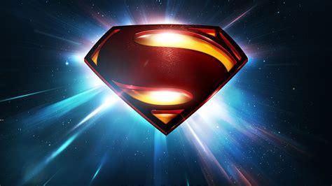 Man of steel movie superman logo wallpaper | AllWallpaper ...