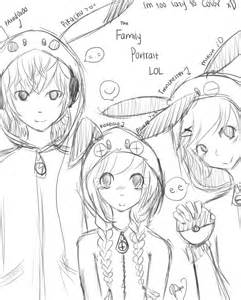 Anime Family Drawing