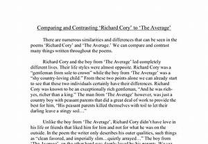 Richard Cory Essay Words To Use In A Thesis Statement Richard Cory  Richard Cory Essay Thesis