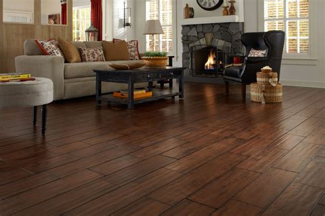 Handscraped Hardwood Flooring   Lumber Liquidators   YouTube