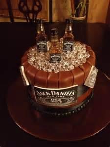 Jack Daniel's Happy Birthday Cake