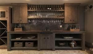 Meuble Cuisine Bois Brut : etagere rangement cuisine meuble rangement cuisine mural ~ Dailycaller-alerts.com Idées de Décoration