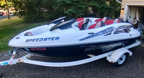 Sea Doo Boat Weeds by Whiteford 2000 Sea Doo Bombardier Speedster Jetboat 2000