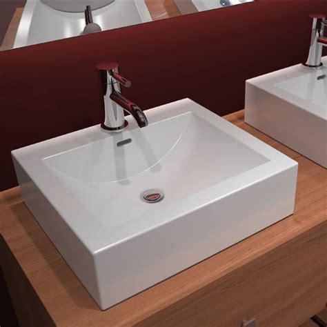 Cantrio Koncepts Cast Polymer Vessel Bathroom Sink