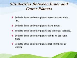 Inner and Outer Planets Similarities (page 2) - Pics about space