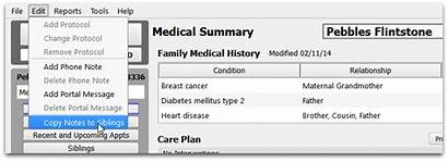 Medical History Notes Pcc Copy Learn Select