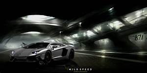 Black Lamborghini Aventador Wallpaper WallpaperSafari