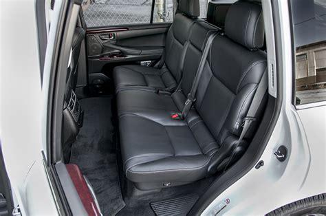 2015 Lexus Lx 570 Rear Interior Seats Photo 11