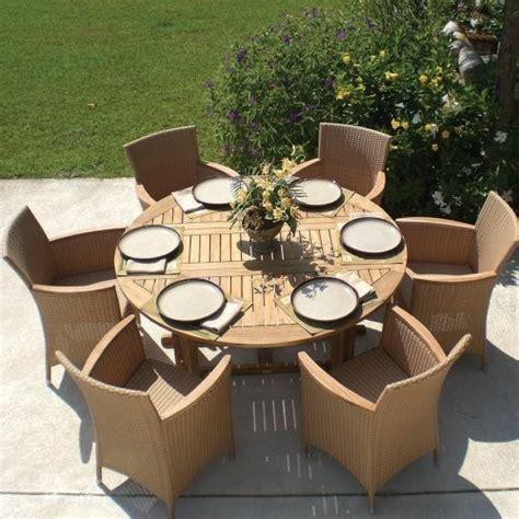 royal teak drop leaf patio dining table