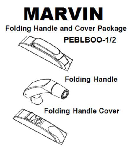 folding handle cover marvin casement casemaster marvin window door parts