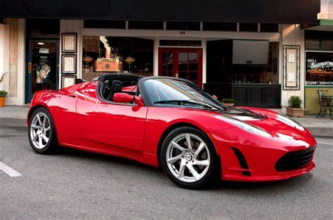 tesla roadster interior image  car release news
