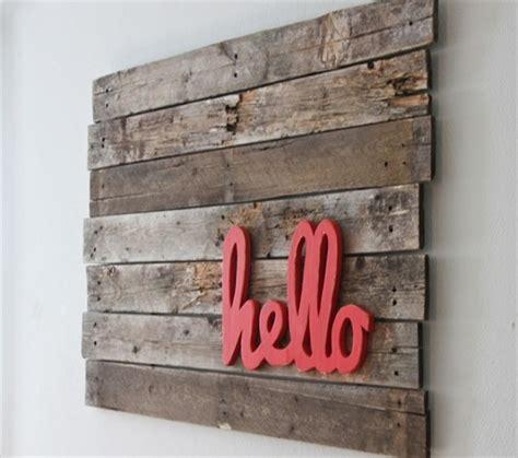 pallets wall art craft ideas pallet ideas