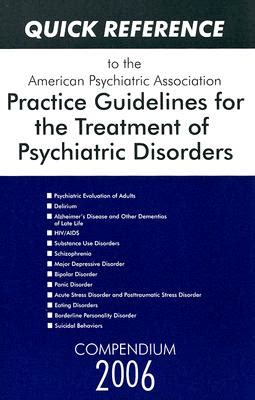 quick reference   american psychiatric association