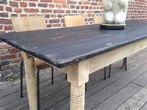 Table Ancienne De Ferme : ancienne grande table de ferme ~ Teatrodelosmanantiales.com Idées de Décoration
