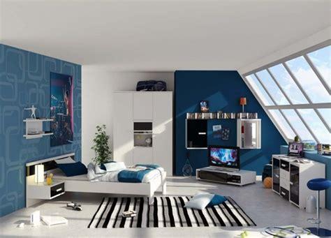 photo chambre ado idée chambre ado bleu