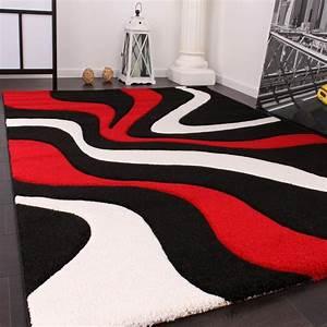 Tapis Noir Et Rouge : tapis rouge et noir pas cher id es de d coration int rieure french decor ~ Dallasstarsshop.com Idées de Décoration