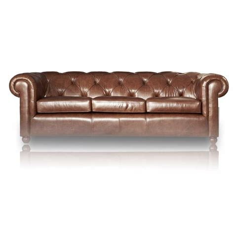 canapé chesterfield canapé chesterfield en cuir mister canape