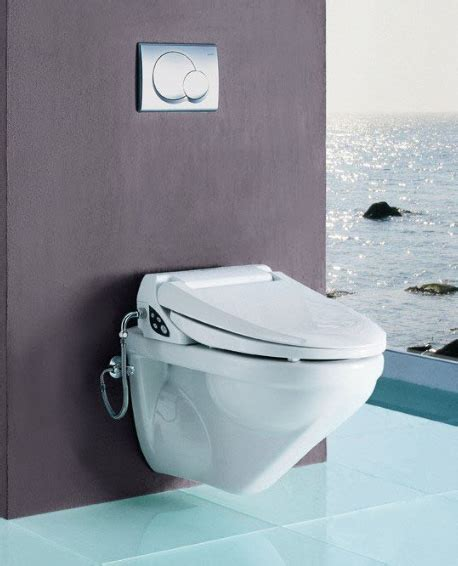 Shower Toilet From Geberit  New Balena 8000 Wall Mounted