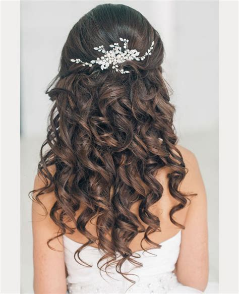 Must See Spiral Curl Hairstyles for Brides   Mon Cheri Bridals