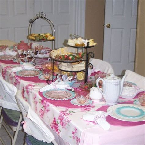 Ideas for Ladies Tea Party Table Decorations